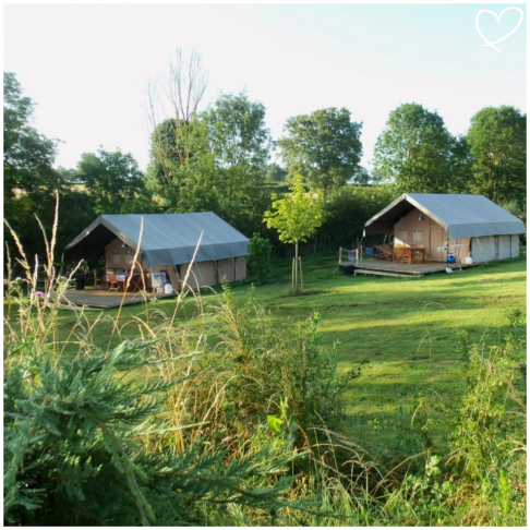 Camping Vallée de Lignac | kidsproofvakanties.com